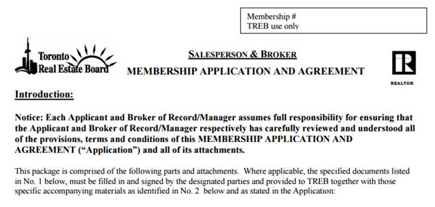 如何申请成为TREB Memeber 文章图片2